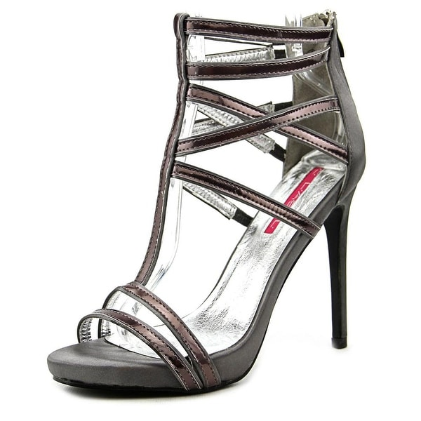 C Label Olive-33 Women Open Toe Synthetic Silver Sandals