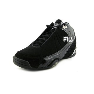 Fila DLS Slam Men Round Toe Canvas Black Basketball Shoe