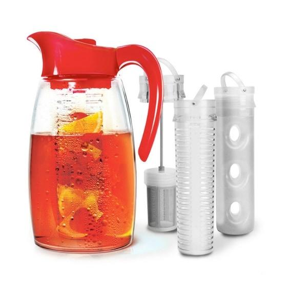 Primula PFRE-3725 Flavor It Cherry Beverage System Pitcher, 2.9 Quart