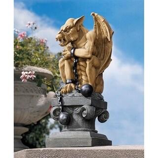 Design Toscano Halloween  Ball-And-Chain Gothic Dungeon Gargoyle Statue