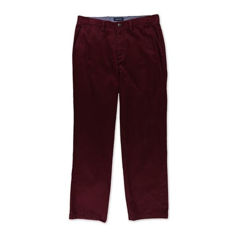 Nautica Mens Classic Fit Twill Casual Chino Pants