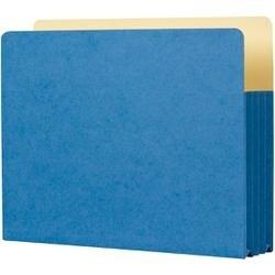 "Sky Blue - Student Project Folders 9.5""X14.75""X3.5"" 5/Pkg"