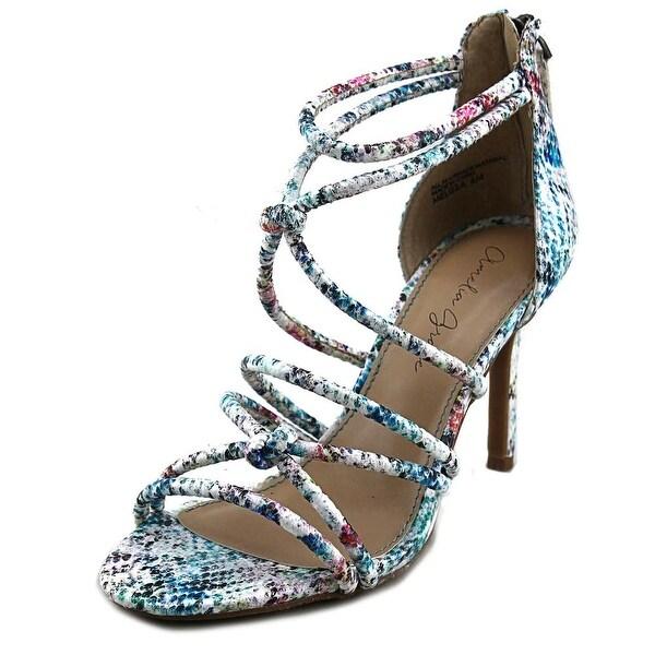 Amelia Grace Melissa Women Open Toe Synthetic Multi Color Sandals
