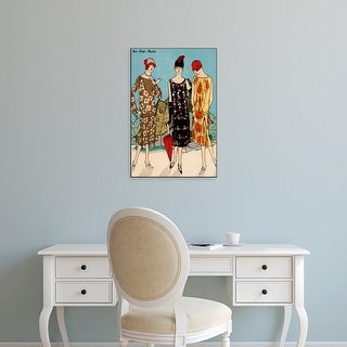 Easy Art Prints Unknown's 'Vintage Couture I' Premium Canvas Art