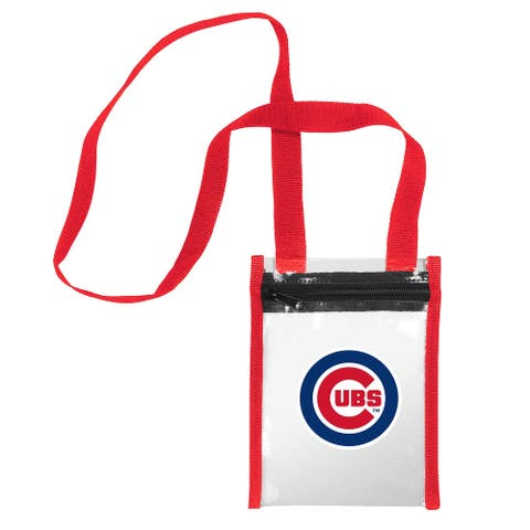 Chicago Cubs Clear Crossbody Tote Bag