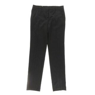 BOSS Hugo Boss Womens Dress Pants Pindot Regular Fit