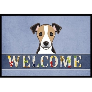Carolines Treasures BB1447MAT Jack Russell Terrier Welcome Indoor & Outdoor Mat 18 x 27 in.