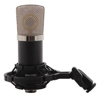 BM-700 3.5mm Wired Sound Recording Microphone for Karaoke Singing