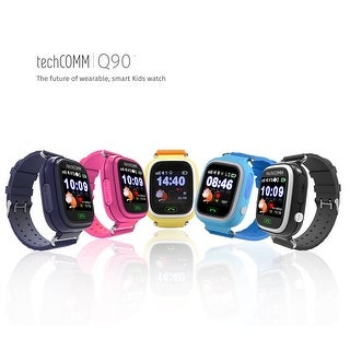 TechComm Q90 Kids GPS Smart Watch Fitness Tracker Call & Text