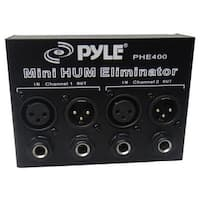 Hum-Noise Eliminator 2-Channel Box with XLR Jacks