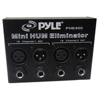 PylePro PHE400 Hum-Noise Eliminator 2-Channel Box with XLR Jacks