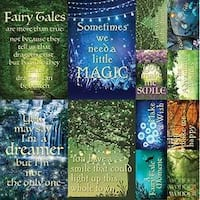 """- Fairy Forest Poster Stickers 12""""X12"""""""