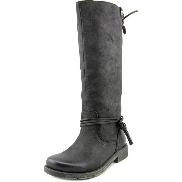 Roxy Rider J Women Round Toe Synthetic Black Knee High Boot