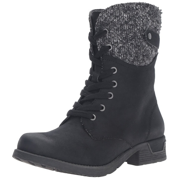 White Mountain Womens Raymond Round Toe Mid-Calf Chelsea Boots
