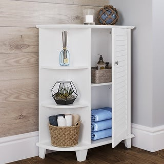 Link to RiverRidge Ellsworth Cabinet with Side Shelves Similar Items in Bathroom Furniture