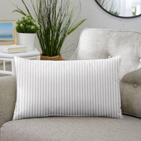 Sunbrella Scale Cloud Indoor/ Outdoor Pillow, 12 in x 24 in