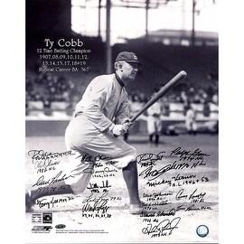 "Batting Champions Multi Signed ""Cobb Batting"" 16x20 Photo ()"