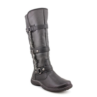 Wanderlust Gabrielle Wide Calf W Round Toe Synthetic Knee High Boot