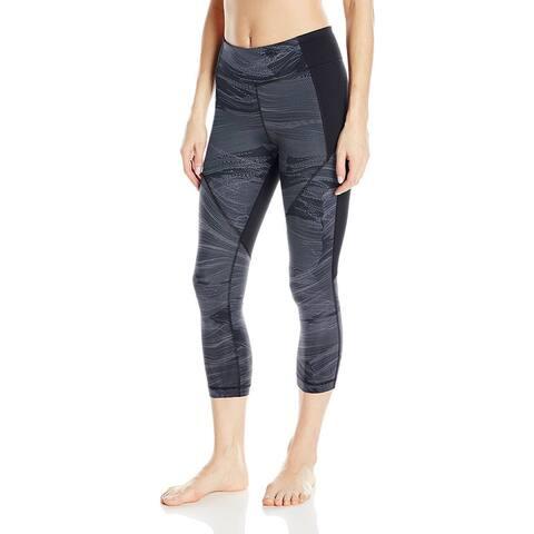 Under Armour Women's Mirror Printed Leggings, Black (XL)