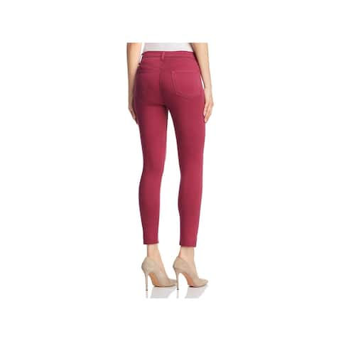 J Brand Womens Alana Skinny Crop Jeans High Rise Colored
