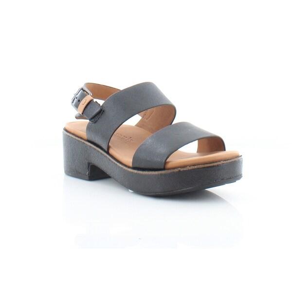 Gentle Souls Talia Women's Sandals & Flip Flops Black - 6.5