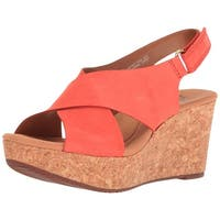 CLARKS Womens Annadel Eirwyn Open Toe Casual Platform Sandals