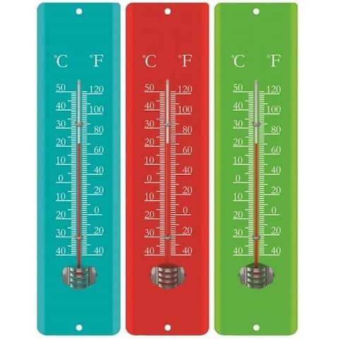 La Crosse Technology 204-1530 Mercury-Free Weatherproof Analog Thermometers