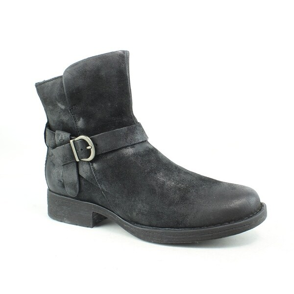 Born Womens Syd black Ankle Boots