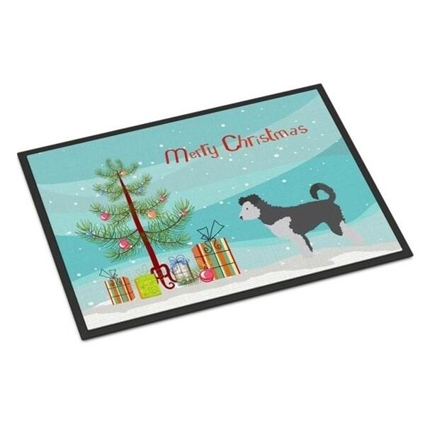 Carolines Treasures BB8459JMAT Pumi Christmas Indoor or Outdoor Mat 24 x 36 in.