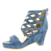 Beacon Womens Skylar Open Toe Special Occasion Platform Sandals