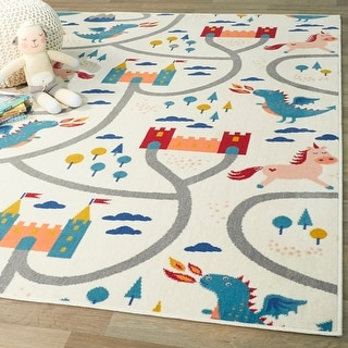 Link to Fantasy Road Kids Area Rug Similar Items in Rugs