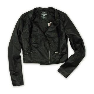 Link to Ecko Unltd. Womens P/U Quilted Jkt Motorcycle Jacket Similar Items in Women's Outerwear