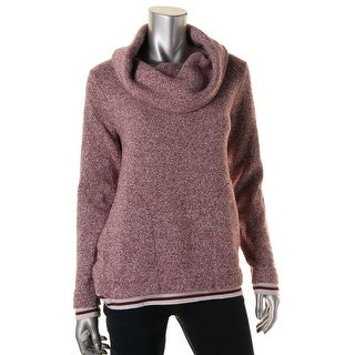 Tommy Hilfiger Womens Fleece Lined Cowl Pullover Sweater