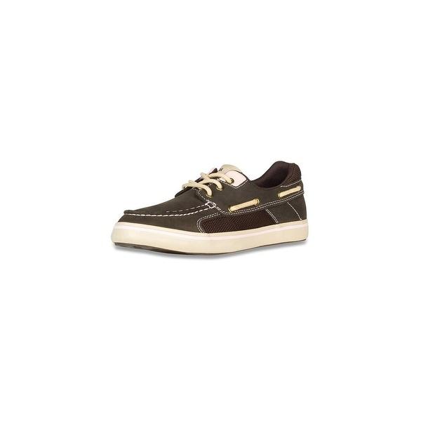Xtratuf Women's Finatic II Deck Chocolate Shoes w/ Non-Marking Outsole - Size 6
