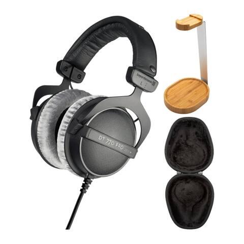 Beyerdynamic DT 770 PRO Over-Ear Studio Headphones (Black) Bundle