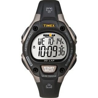 Timex Ironman Triathlon 30 Lap Mid Size Grey/Black