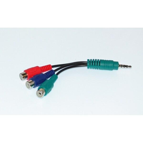 OEM LG Audio Video AV Cable Originally Shipped With: 47LE8500, 47LE8500UA, 26LE5500, 32LD320, 47LM7600, 47LM7600UA