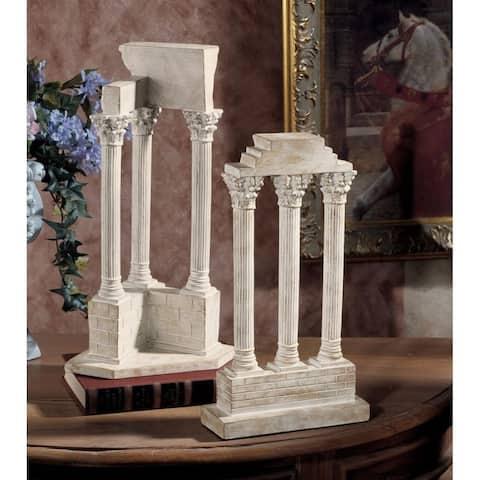 Design Toscano Roman Forum Columns Set