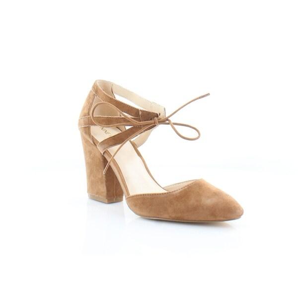 Nine West Sabiniano Women's Sandals & Flip Flops Dk Natural