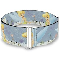 Tinker Bell Garden Poses Cinch Waist Belt   ONE SIZE