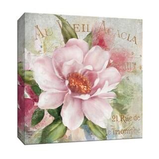 """PTM Images 9-146838  PTM Canvas Collection 12"""" x 12"""" - """"Parfum de Paris I"""" Giclee Flowers Art Print on Canvas"""