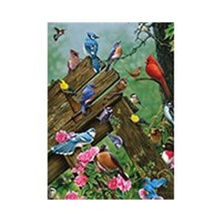 Outset Media Games Wildbird Gathering Puzzle Tray, 35 Piece