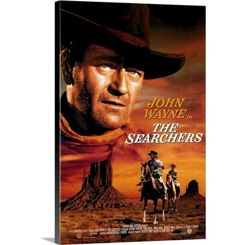 """The Searchers (1956)"" Canvas Wall Art"