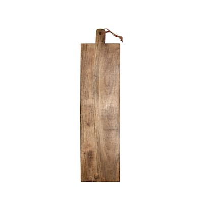 Foreside Home & Garden Carved Wood Oversized Serving Cutting Board