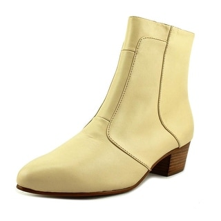 Giorgio Brutini 80575 Men Pointed Toe Leather Ivory Ankle Boot