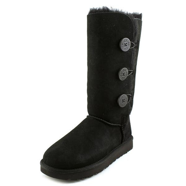 db42ee2ef08 Shop Ugg Australia Bailey Button Triplet ll Women Round Toe Suede ...