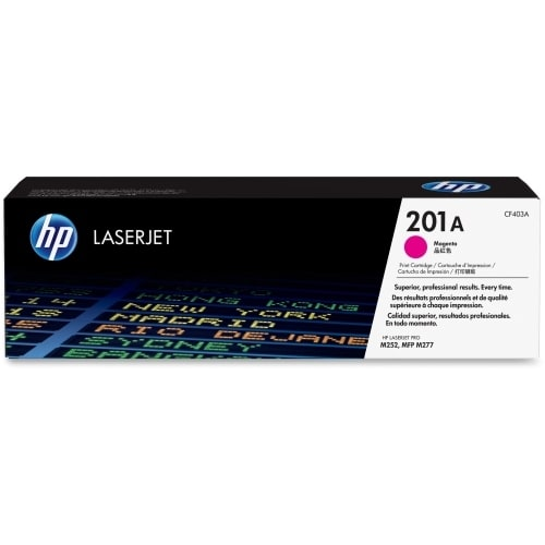 HP 201A Magenta Original LaserJet Toner Cartridge (Single Pack) HP 201A Toner Cartridge - Magenta - Laser - 1400 Page -