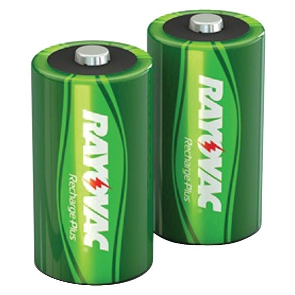 Rayovac Pl714-2 Genb Ready-To-Use Rechargeable Nimh Batteries (C; 2 Pk; 3,000Mah)