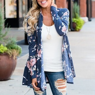 Floral Cardigan in 2 Colors