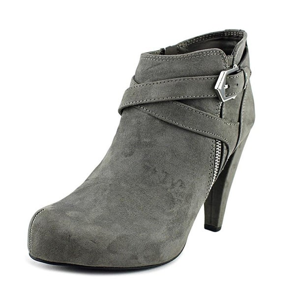 G By Guess Taylin 2 Women Dark Gray Boots